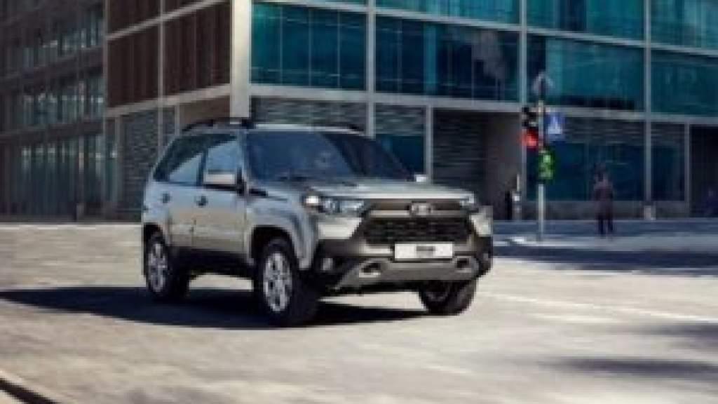 Lada начала продажи новой Niva Travel