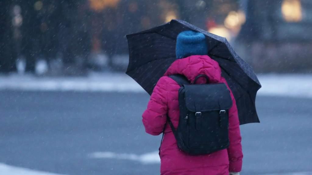 Погода на воскресенье: порывистый ветер и снег