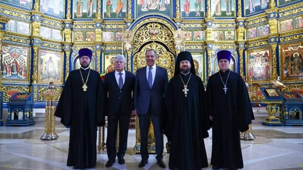 Сергей Лавров: РПЦ играет огромную роль в мобилизации верующих в интересах мира