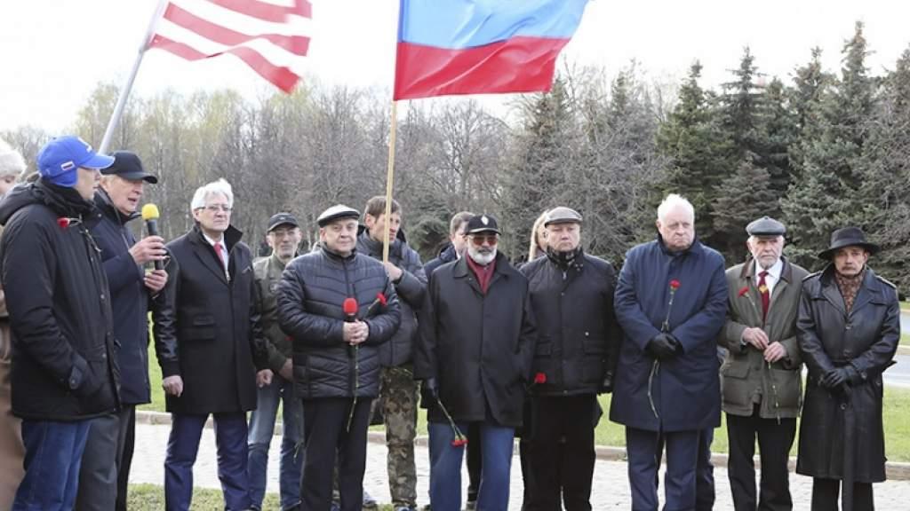 В Москве отметили годовщину встречи советских и американских войск на Эльбе