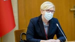 Премьер Литвы: карантинные условия не планируется менять, ситуация – неприятная, но стабильная
