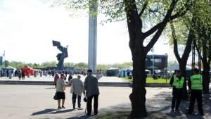 В Риге ограничат движение в окрестностях парка Победы