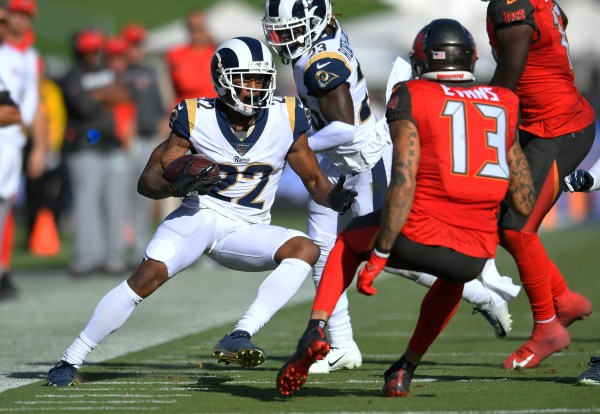 Ravens Acquire Rams CB Marcus Peters In Exchange For LB Kenny Young, Draft Pick