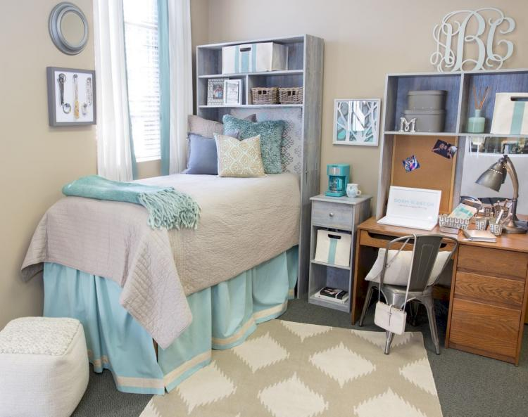 24 Cool Dorm Room Organization Ideas On A Budget