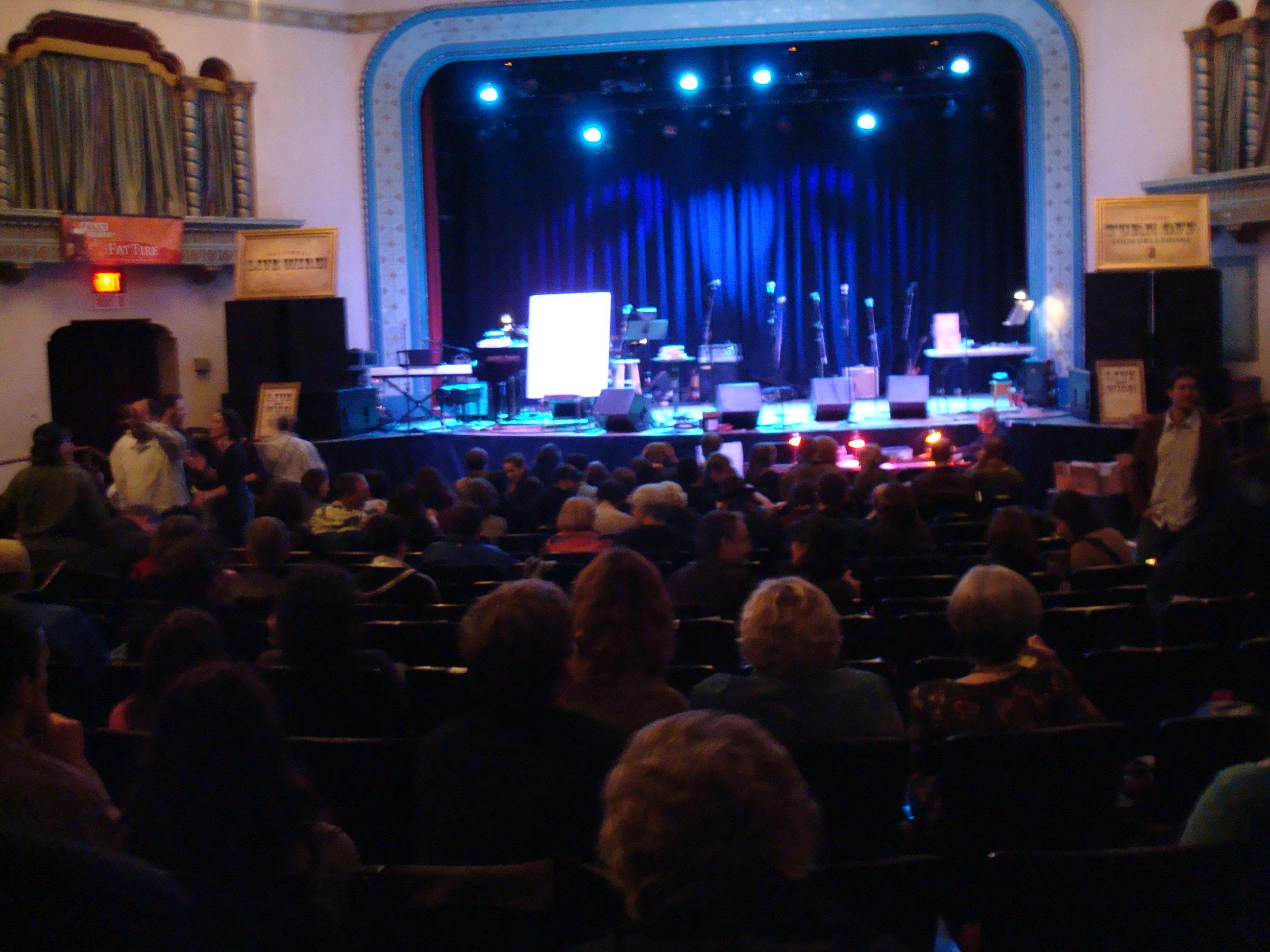 Live Wire! at the Aladdin Theater in Portland.