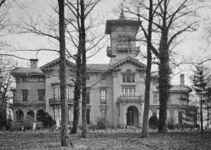 Guilford Mansion, courtesy the Charles Hall Abell Family Album/Guilford Association