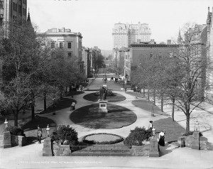 North Mount Vernon Place Square, 1906