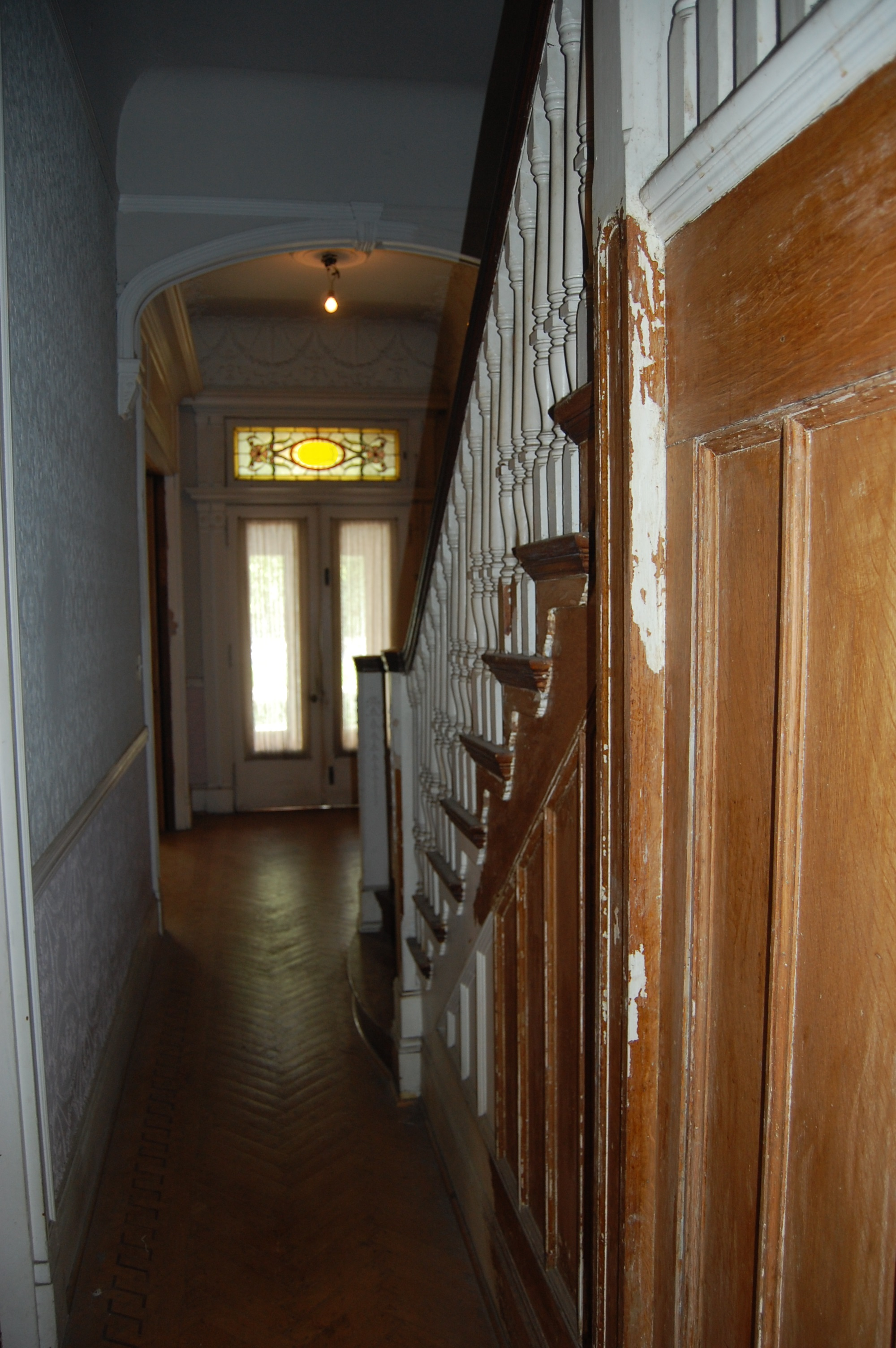 Hall, Bolton Hill Rowhouse