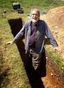 Dr. John Bedell at Patterson Park, May 2014