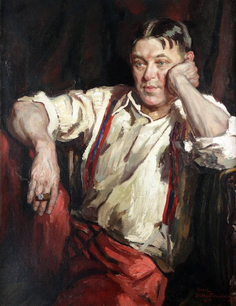 Portrait by Nikol Schattenstein, 1927. Courtesy Enoch Pratt Free Library.