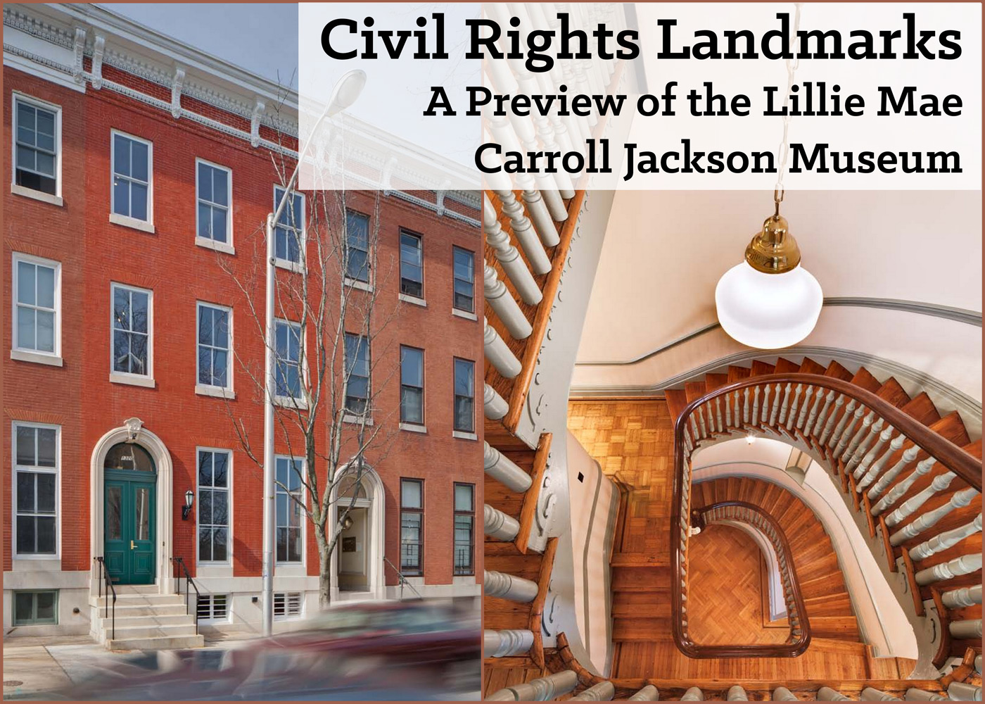Civil Rights Landmarks A Preview Of The Lillie Carroll