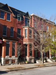 Harry S. Cummings Residence, 1318 Druid Hill Avenue