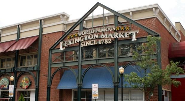 Lexington Market Entrance