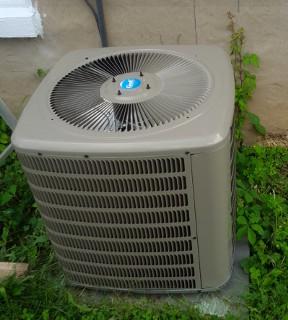 A/C condenser