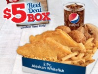Long John Silver's $5 Reel Deal Box