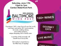 Discounted Tickets to Baltimore Wine Fest