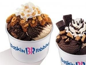 Baskin Robbins $1.50 ice cream scoop
