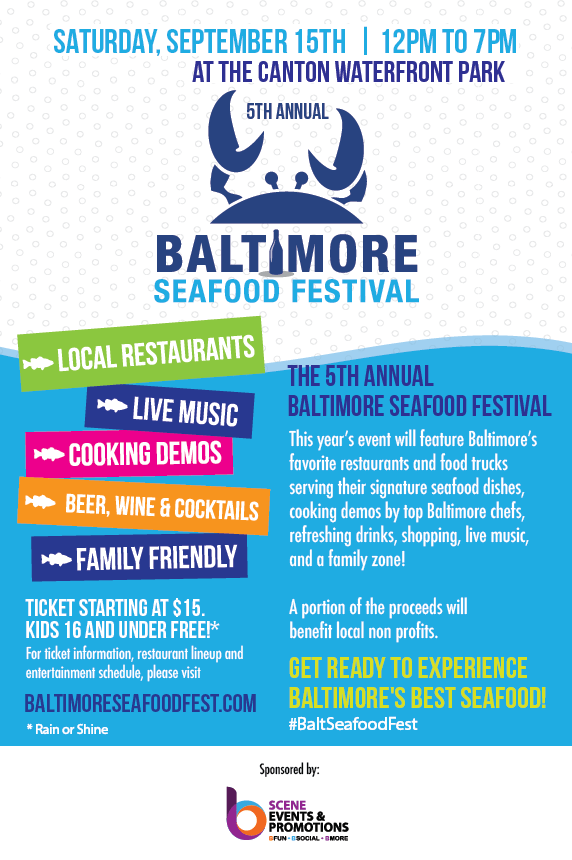Baltimore Seafood Festival Flyer