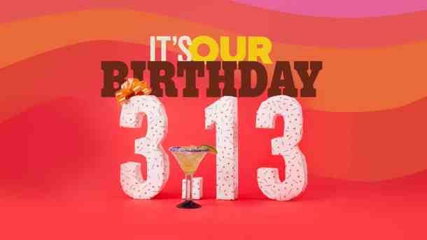 Chili's birthday celebration