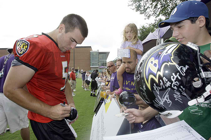 Ravens training camp vacating Westminster: It's just business of Hardball