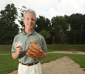 The 'other' Kolarek makes a baseball pitch for A League of Dreams