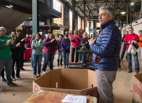 Del Guercio says Maryland Food Bank seeing unprecedented needs due to COVID demands