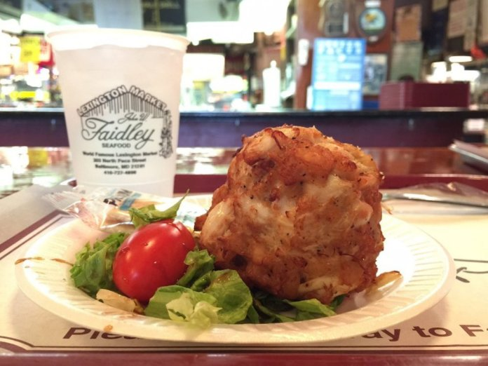 Where do those delicious Faidley crab cakes come from and who picks the meat?