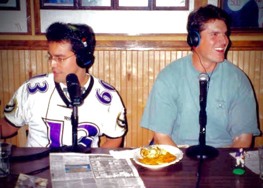 Long before big brother ran Ravens, QB Jim Harbaugh gets an education on crab cakes and Baltimore from Nestor