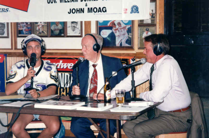 Let Governor Schaefer and John Moag tell you how the Cleveland Browns became the Baltimore Ravens