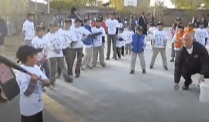 That time we played Ripken Quickball at an orphanage in Beijing