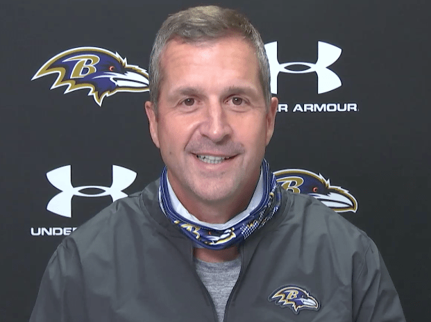 Harbaugh excited to see contributions from new Ravens assistants