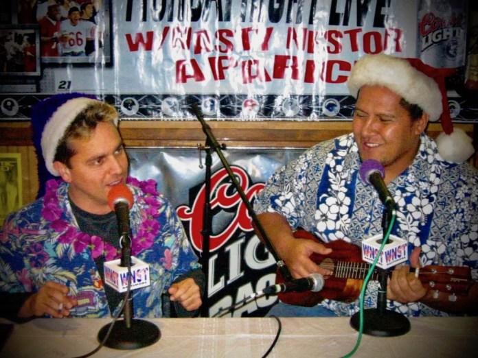 Let Edwin Mulitalo set the holiday island mood with his ukelele