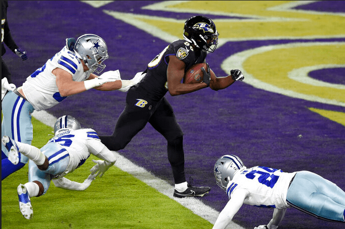 Twelve Ravens thoughts following Week 13 win over Dallas