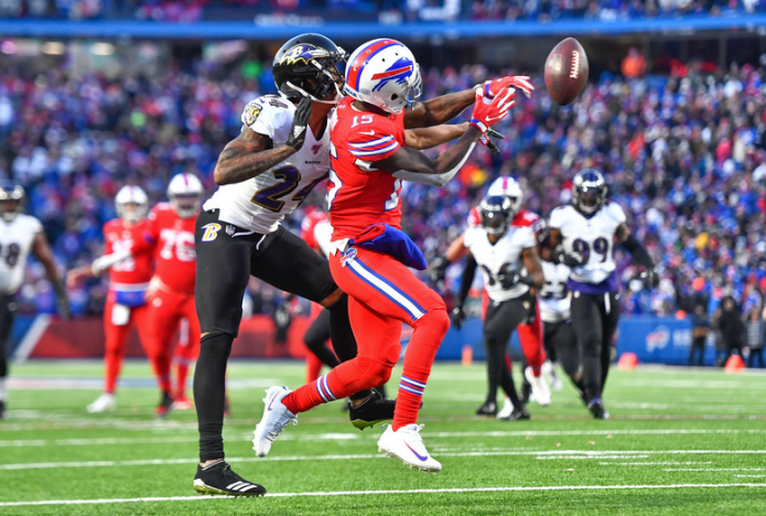 Ravens cornerback Peters questionable, but expected to play in divisional round