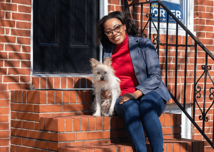 Talking South Baltimore on the rise with new Councilwoman Porter