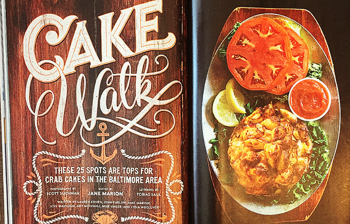 Max Weiss takes a bow for Baltimore Magazine as we talk crab cakes with The Cinema Queen
