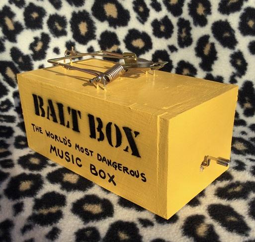 Salt Box Music Box Mouse Trap
