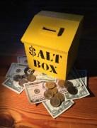 Salt Box Piggy Bank