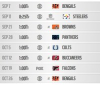 2014 Baltimore Ravens Schedule