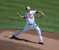 Chris Davis - Baltimore Orioles pitcher