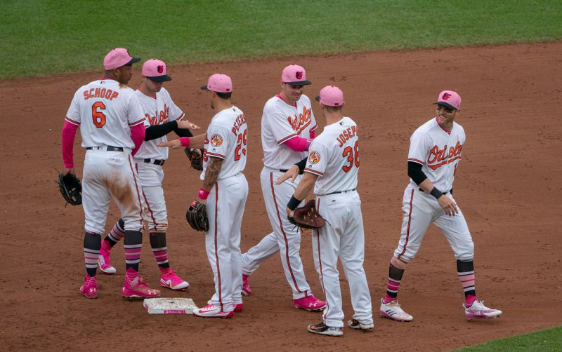 Baltimore Orioles Mother's Day Uniforms