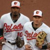 Adam Jones and Manny Machado - Baltimore Orioles
