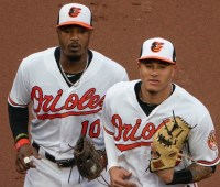Adam Jones and Manny Machado - Baltimore Orioles