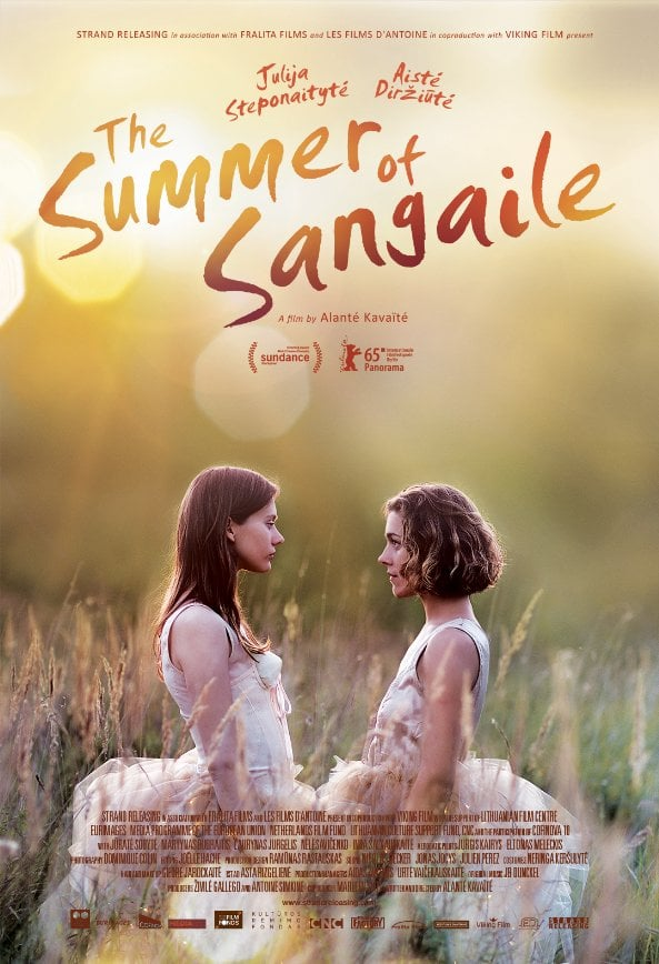 Julija Steponaityte and Aiste Dirziute in Sangaile (2015) | Photo © by Strand Releasing