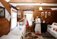 The farm tourism estate Polesie Traditions in the ancient village of Andronovo, Kobrin District