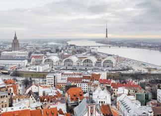 Hauptmarkt in Riga, Lettland. Foto: BR-Archiv