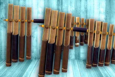 alat musik tradisional jawa barat yang dipukul