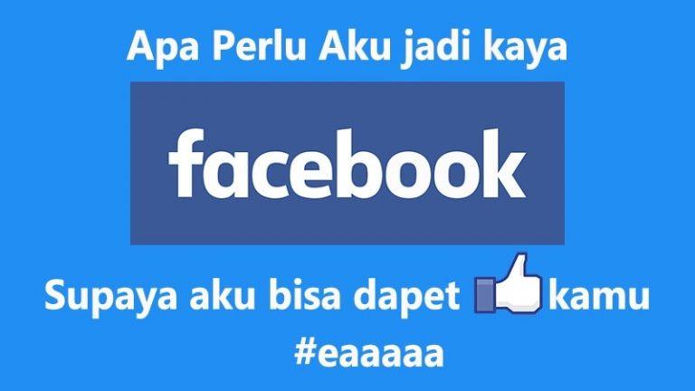 gambar kata kata lucu di facebook