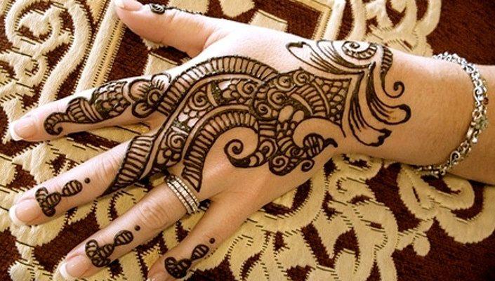 100 Motif Gambar Henna Simple Unik Dan Paling Cantik Buat
