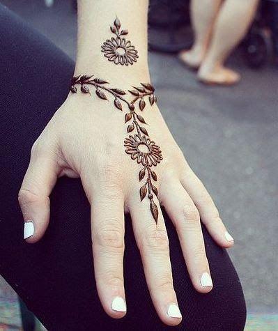 100 Motif Gambar Henna Simple Unik Dan Paling Cantik Buat Pengantin Balubu